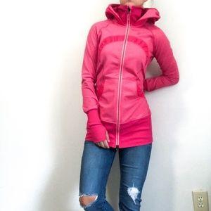Lululemon Gather Together Jacket in Pink, size 8